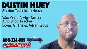 Dustin  Huey Bio Image