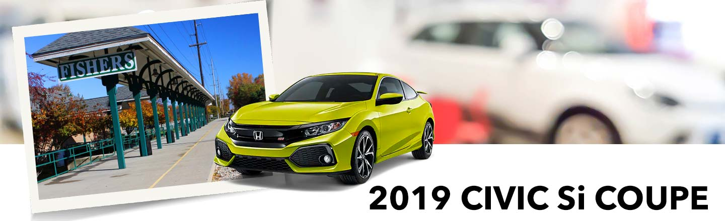 Our Fishers, IN, Honda Dealer Has 2019 Civic Si Coupes In Stock
