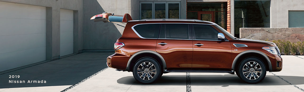 New 2019 Nissan Armada SUV For Sale In The Tifton, Georgia Area