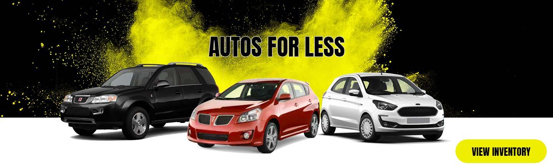 Used Car Dealerships Seattle >> Autos 4 Less Used Car Lot Serving Puyallup Washington