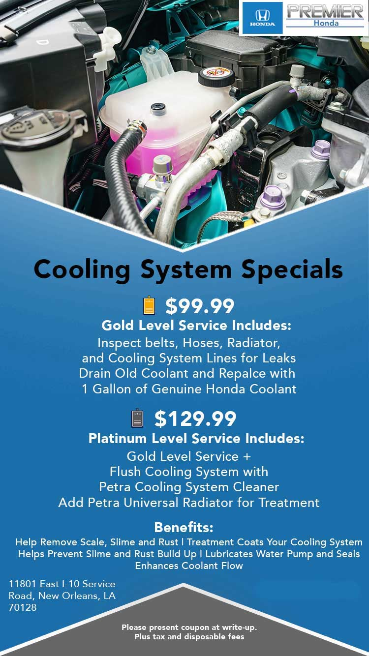 Cooling System Fluid Exchange Special