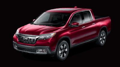 2019 Honda Ridgeline RTL-E Red