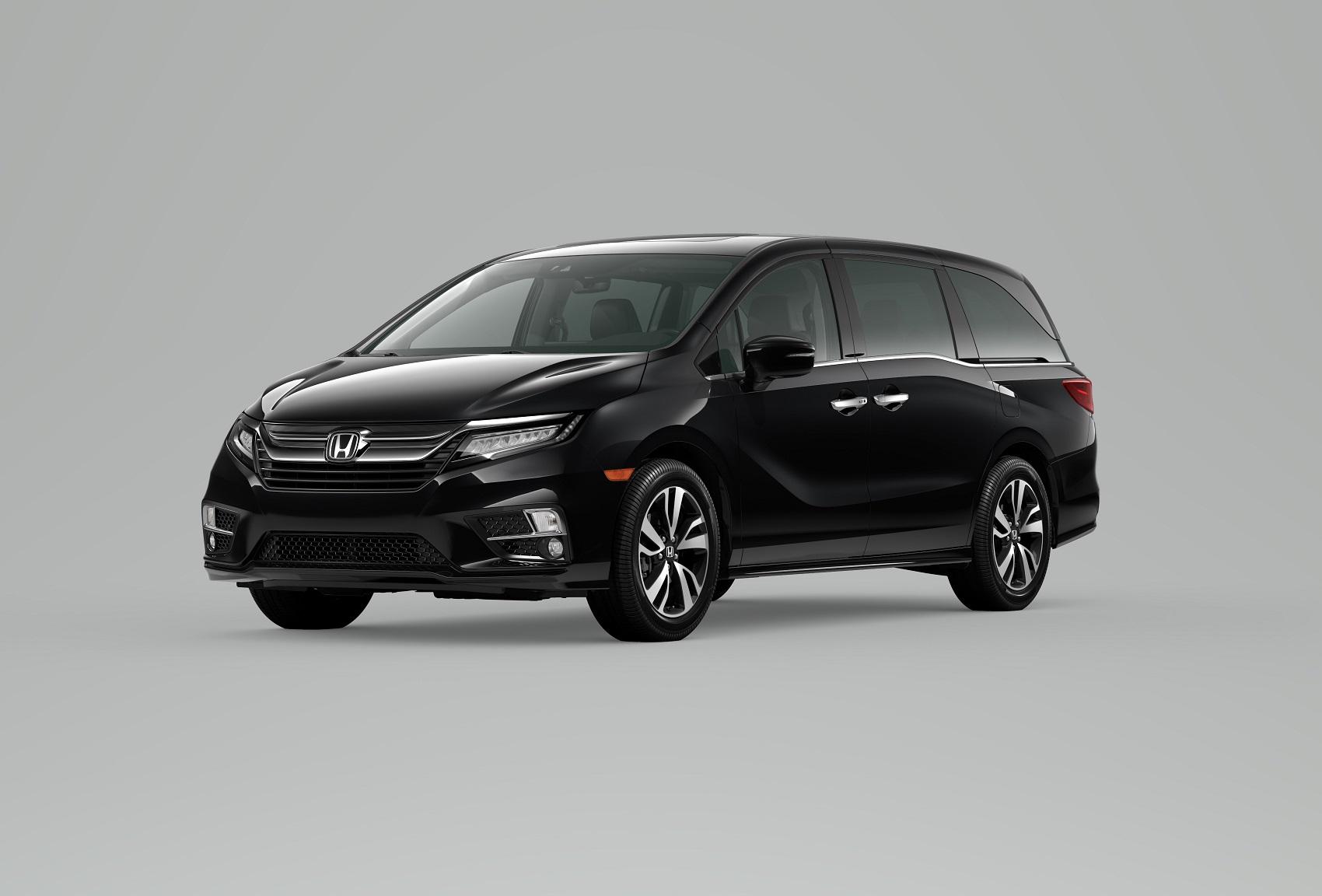 2020 Honda Odyssey Black