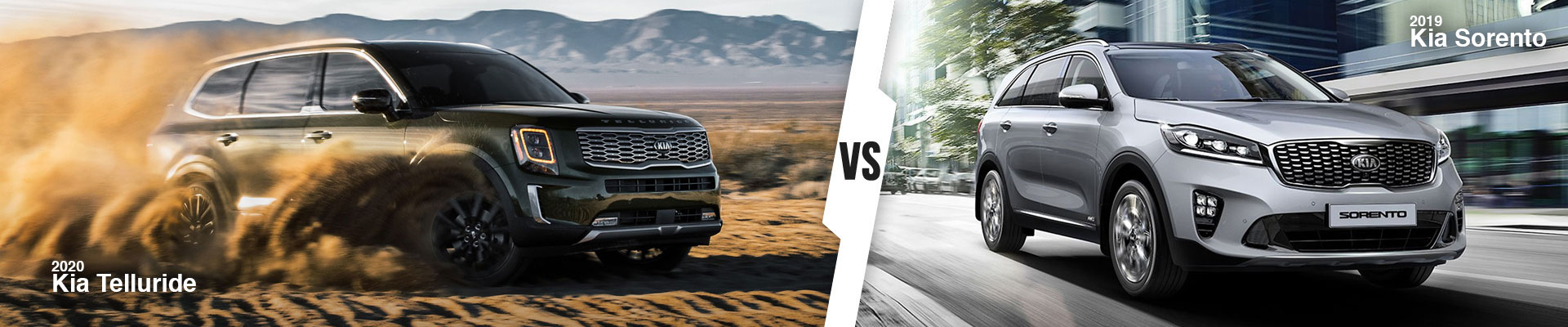 Kia SUV Comparison: 2020 Kia Telluride Versus 2019 Kia Sorento