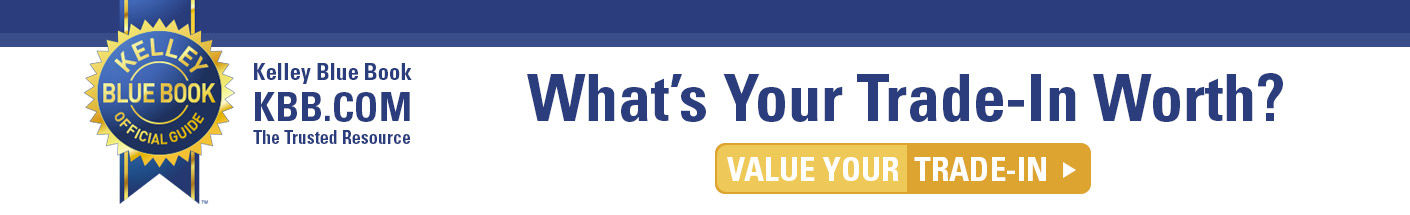 kelley blue book - what is your trade-in worth