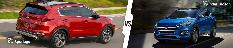 New Compact SUV Comparison: 2020 Kia Sportage Versus 2019 Hyundai Tucson