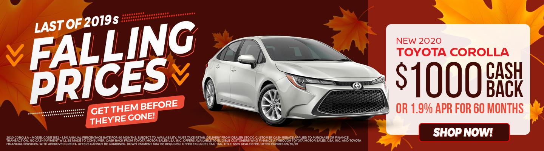 Ehrlich Toyota | Toyota Dealership in Greeley, CO