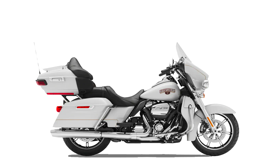 2019 Harley-Davidson H-D Touring Ultra Limited Artic White