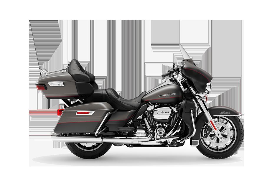 2019 Harley-Davidson H-D Touring Ultra Limited Industrial Grey Black Denim