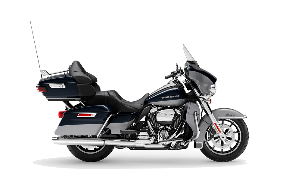 2019 Harley-Davidson H-D Touring Ultra Limited Midnight Blue Barracuda Silver