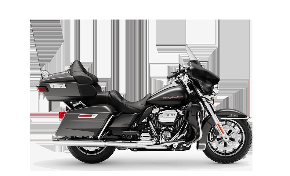 2019 Harley-Davidson H-D Touring Road Ultra Limited Silver Flux Black Fuse