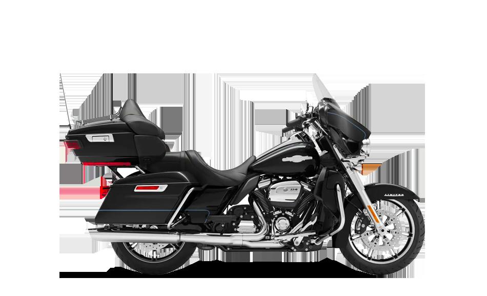 2019 Harley-Davidson H-D Touring Ultra Limited Vivid Black Peace Officer
