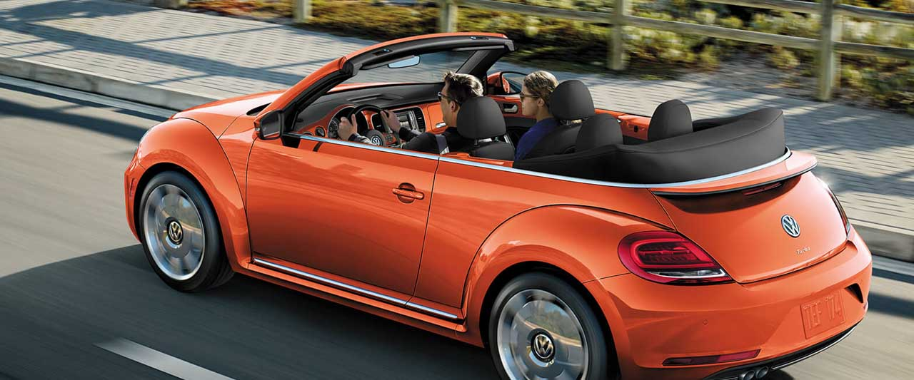 Discover the 2019 VW Beetle Convertible Available Near Wailuku, Hawaii