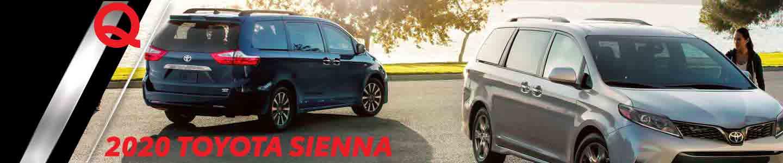 2020 Toyota Sienna Minivan Available Near Alexandria, Minnesota