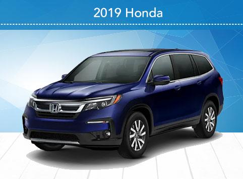 2019 Honda Pilot EX-L 2WD Auto