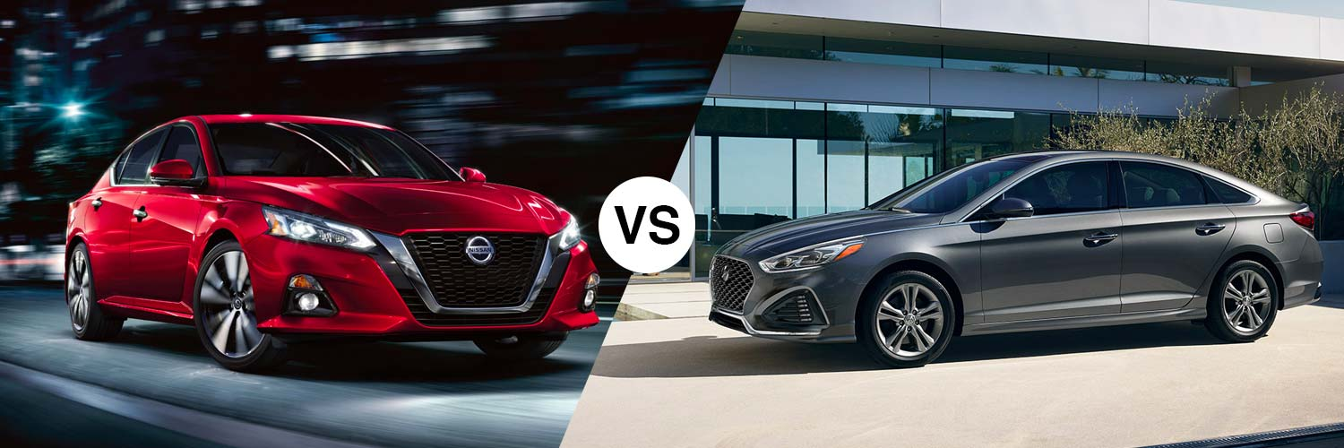 Comparing the 2019 Nissan Altima Against the 2019 Hyundai Sonata