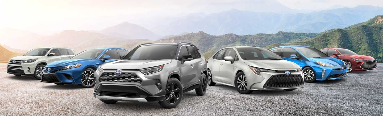 2019 Toyota lineup nightshade