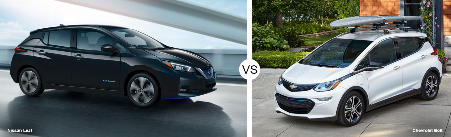 2019 Nissan LEAF vs. 2019 Chevy Bolt