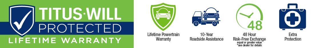 Titus Will Lifetime Warranty