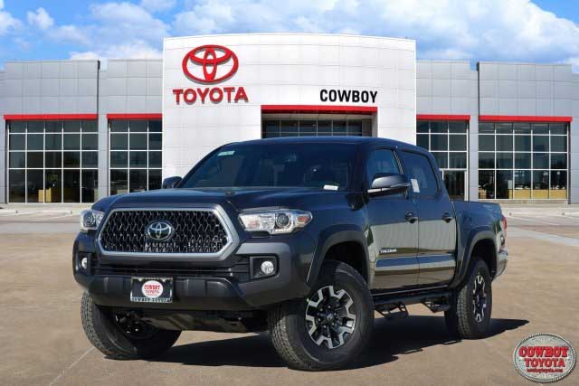 New 2019 Toyota Tacoma 4WD TRD Off Road Doubl