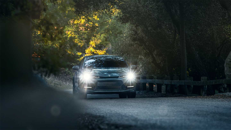 New Toyota Corolla Sedan Exterior Front View