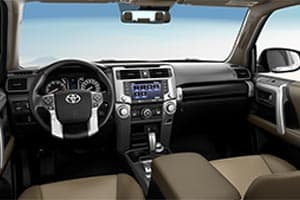 Toyota 4Runner Interior Technology