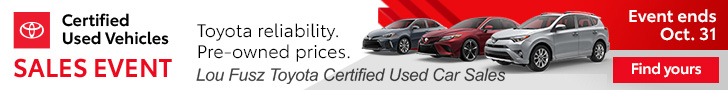 Lou Fusz Toyota Certified Used Vehicle Award Winning Sales