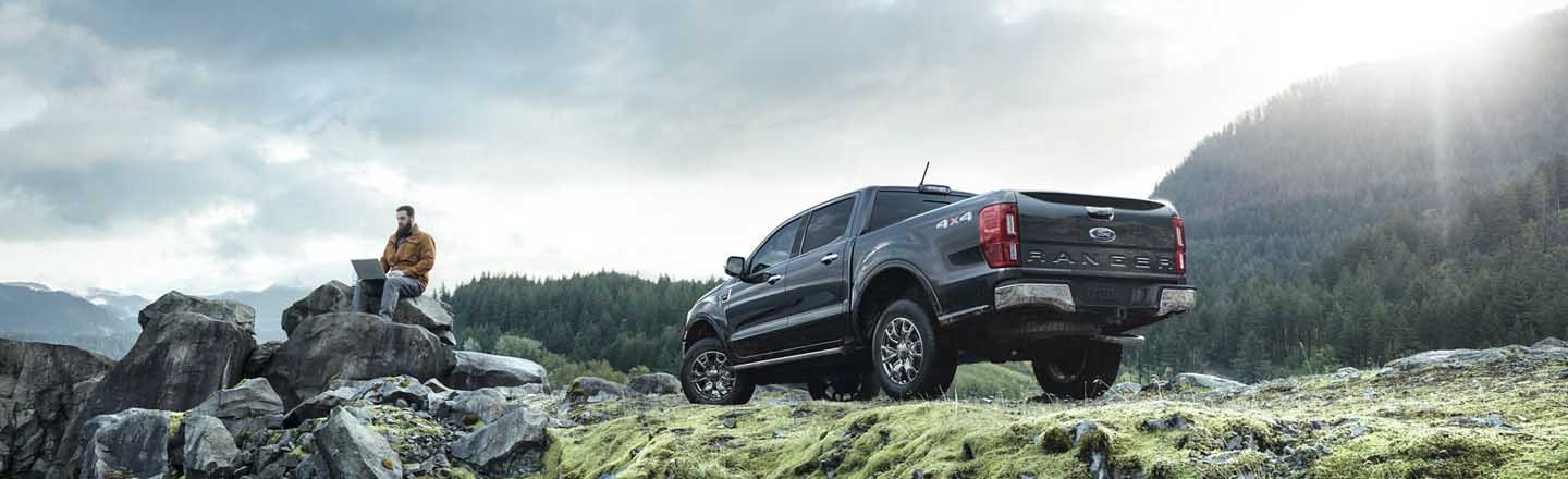 Test Drive The New Ford Ranger Pickup In Anacortes, Washington