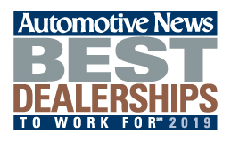 Automotive New Best Dealership to Work For award