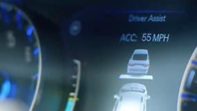 adaptive cruise control on dashboard