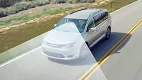 lanesense departure warning 2019 chrysler pacifica driving on highway