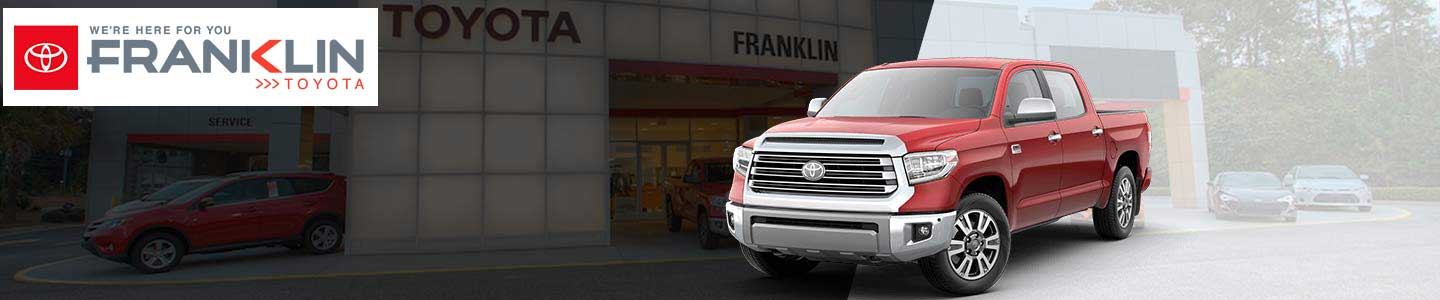 Toyota Financing Services For Savannah, GA Area Drivers