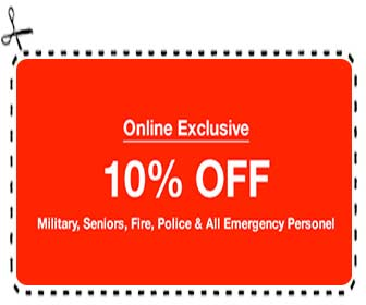 Military ER Discount