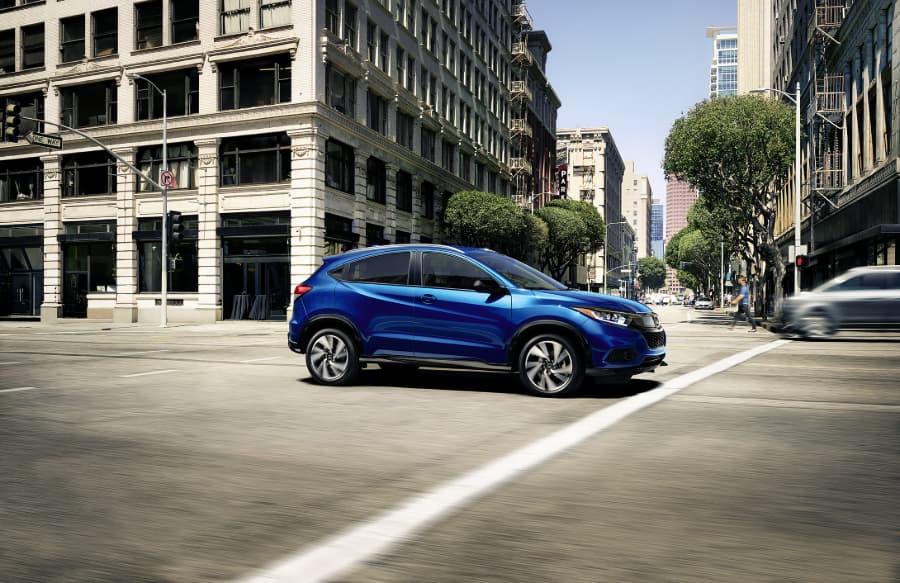 Honda HR-V on the street