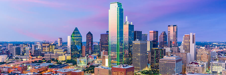Cadillac dealership serving Dallas, TX, Dallas Skyline