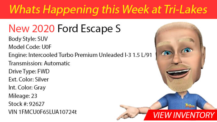 What's Happening 2020 Ford Escape