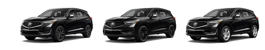Acura RDX package differences