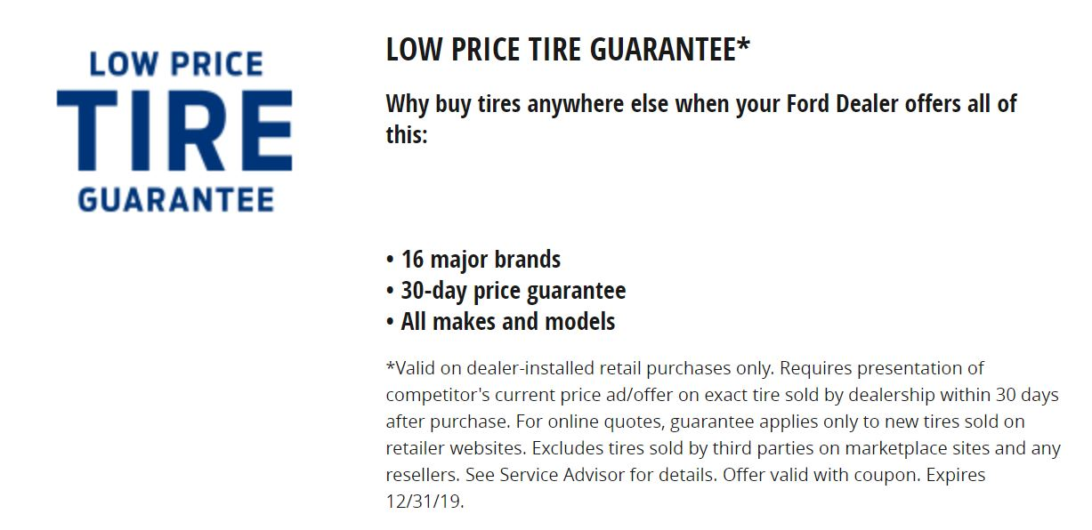 Low Price Tire Guaranteed
