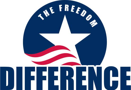 the freedom difference logo