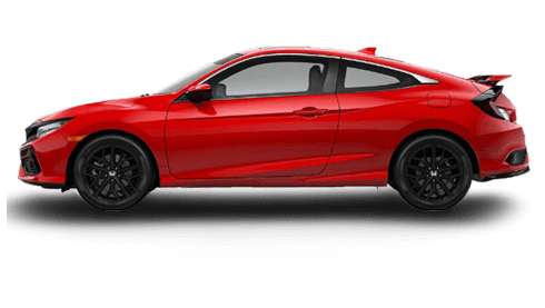 Honda Civic Si Coupe, Rallye Red