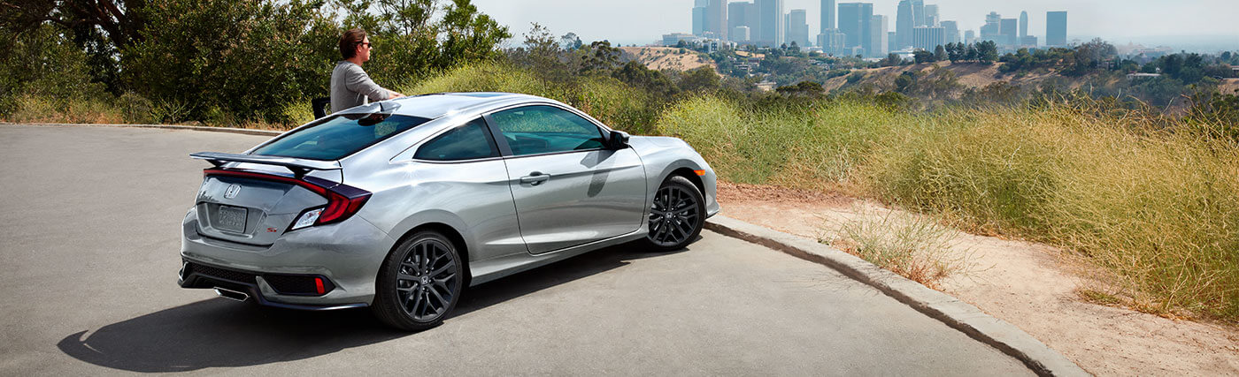 Exterior of the 2020 Honda Civic Si Coupe - available at our Honda dealership near Fort Myers, FL.