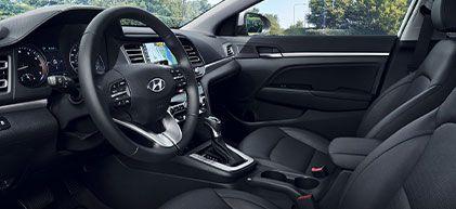 2020 Hyundai Elantra Sedan interior