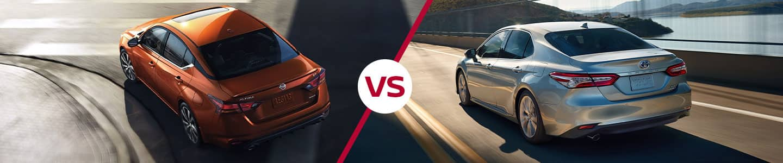 2019 Nissan Altima vs. 2019  Camry
