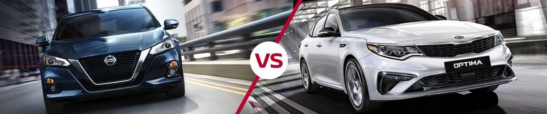2019 Nissan Altima vs. 2019 Optima