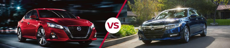 2019 Nissan Altima vs. 2019 Accord