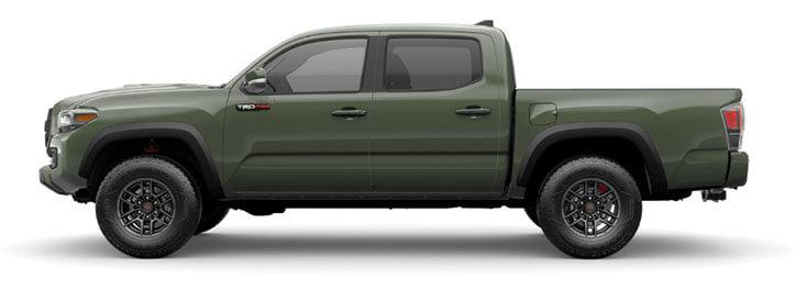2020 Toyota Tacoma green