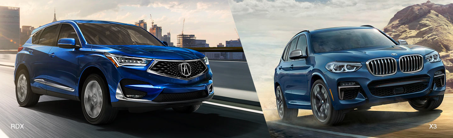 Compare The New 2020 Acura RDX to the 2020 BMW X3 Near Yardley, PA