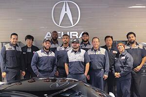 Acura Certified Technicians