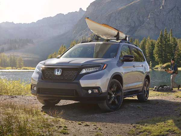 honda passport front view