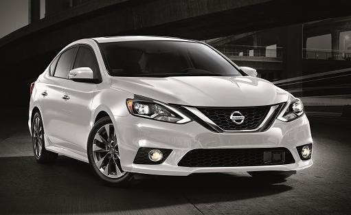 Nissan Sentra White